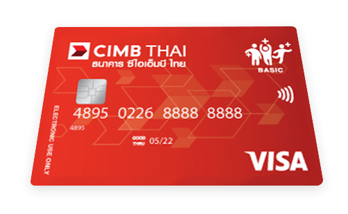 CIMB THAI Debit PA Card