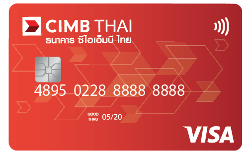 Debit Card Linked to Basic Banking Account (Thai Standard Format)